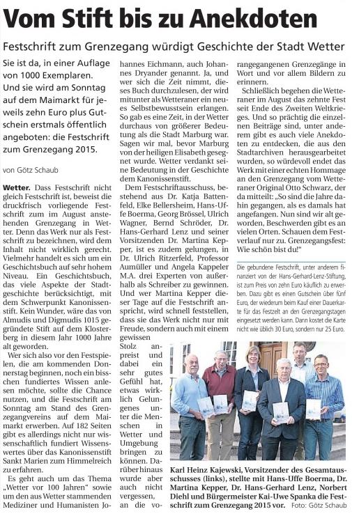 GG OP Festschrift