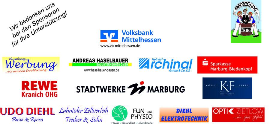 Sponsorenpyramide Grenzegangfest 2015