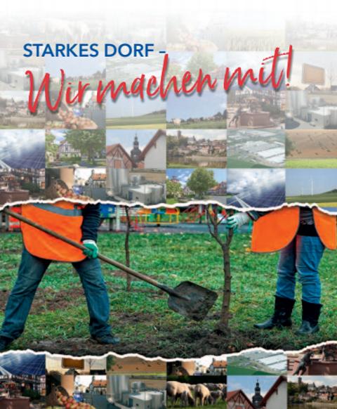 Starkes Dorf Pflanzaktion