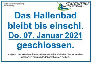 PM_Schließung Hallenbad im November