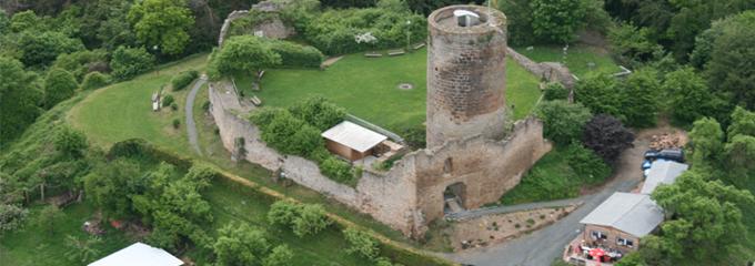Burg Mellnau - Sehenswertes