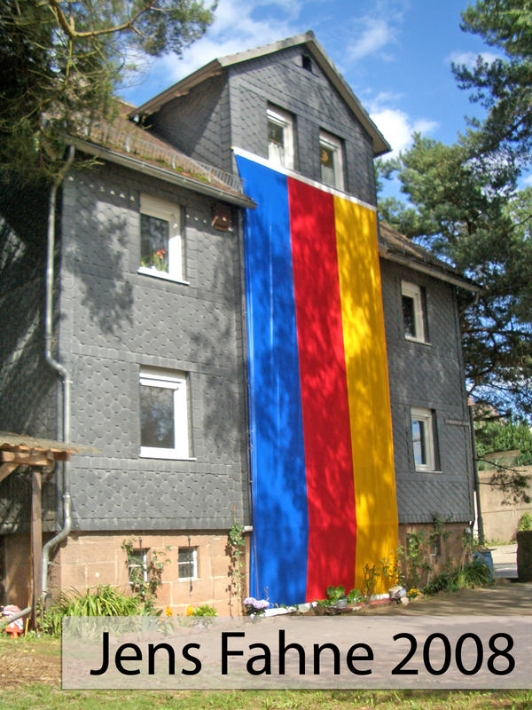 Fahne Grenzegang 2008